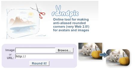 Create Rounded Corners For Images Online Hongkiat Round Corner Corner Image