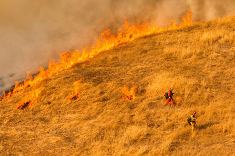 A New California Wildfire Burns In La As Many Face Days Without Power Cnn California Wildfires Climate Change Climates