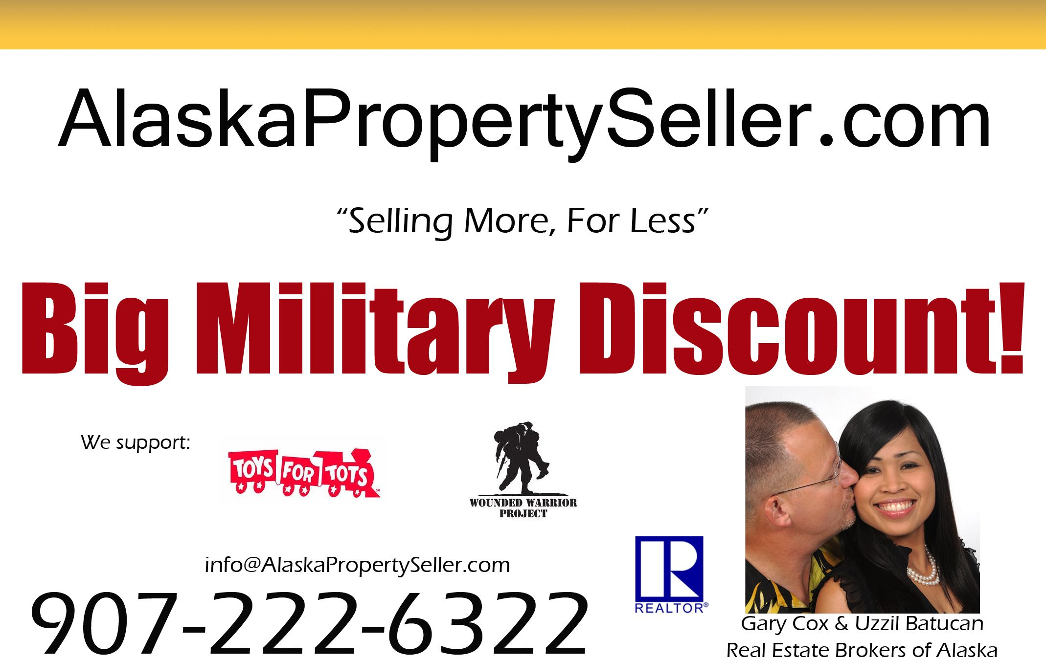 Military Discounts when buying in Alaska