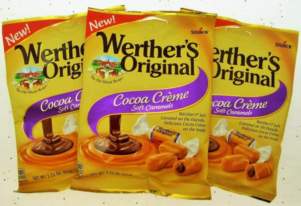 Werther's Cocoa Creme Soft Caramels Werther's Chews ...