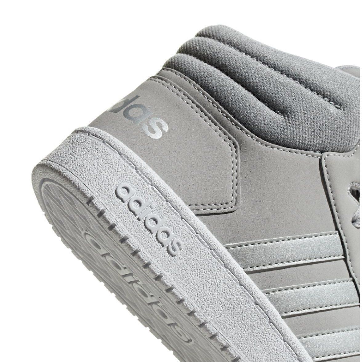 Buty Adidas Hoops Mid 2 0 K Jr F35796 Szare Adidas Baby Shoes Shoes