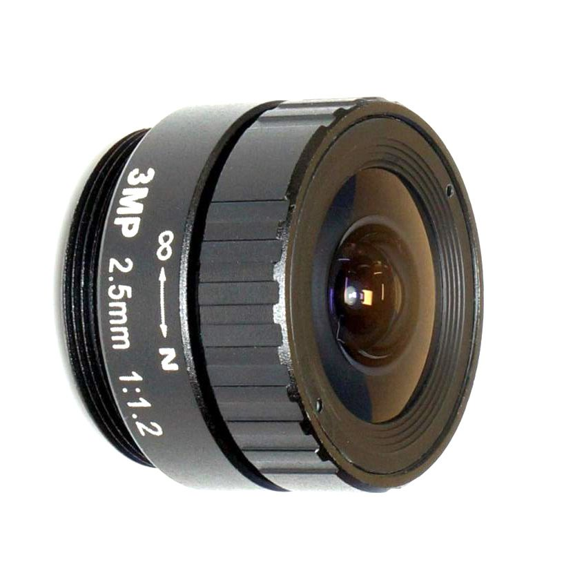 """$10.50 (Buy here: http://appdeal.ru/4czi ) HD 3MP 2.5mmmm CS IR metal CCTV lens for HD Security Cameras,1/2.5"""" format, F1.2 aperture for just $10.50"""