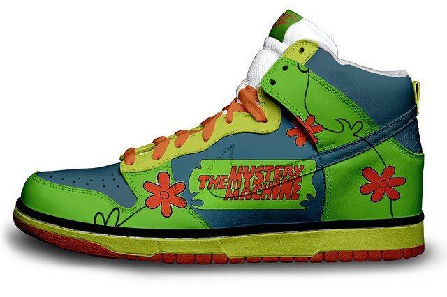 83a8a97130c09 Scooby Doo | Dope Kicks | Nike trainers, Shoes, Disney shoes
