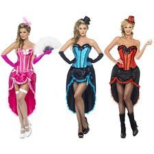can can costume adult saloon girl burlesque cabaret dancer halloween fancy dress - Can Can Dancer Halloween Costume