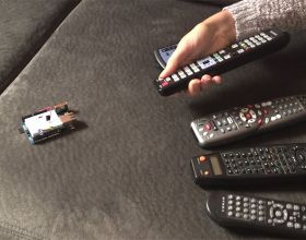 Smart Remote Control - control gagets with universal remotes and an Arduino yun