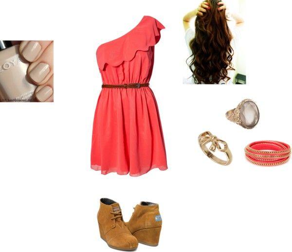 U0026quot;Middle School Danceu0026quot; by hpumphrey on Polyvore | Outfits | Pinterest | Middle school dance ...