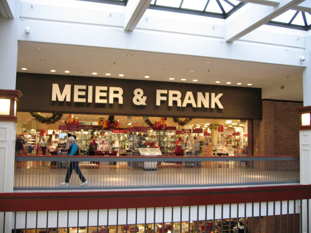 Meier Frank At Clackamas Towncenter Circa 1985 Vintage Mall Mall Vancouver Washington