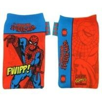 Marvel Comics Spiderman Phone Sock red Pouch Case rare collector's