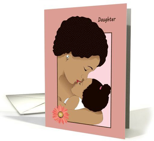 Happy Birthday Mother To Daughter Card With Images Birthday