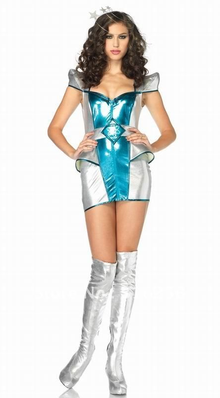 Halloween Fancy Dress Party Shimmering Silver Sexiest Costume Prize Sash