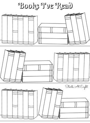 picture about Books to Read Printable named No cost Printable Studying Logs ~ Finish Sized or Adjustable for