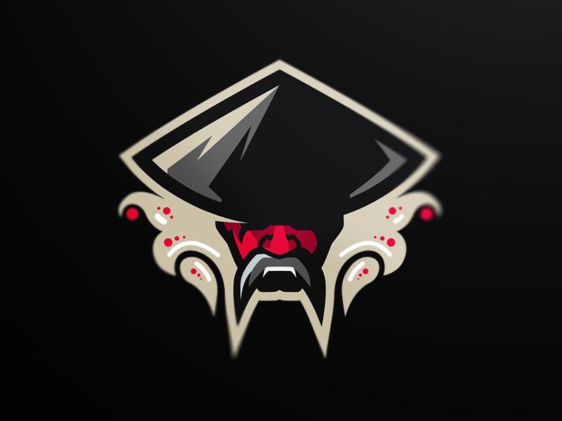 Samurai Mascot Logo in 2020 Game logo design, Esports