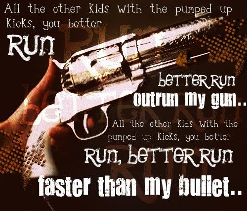 Pumped Up Kicks Foster The People Lyrics With Images