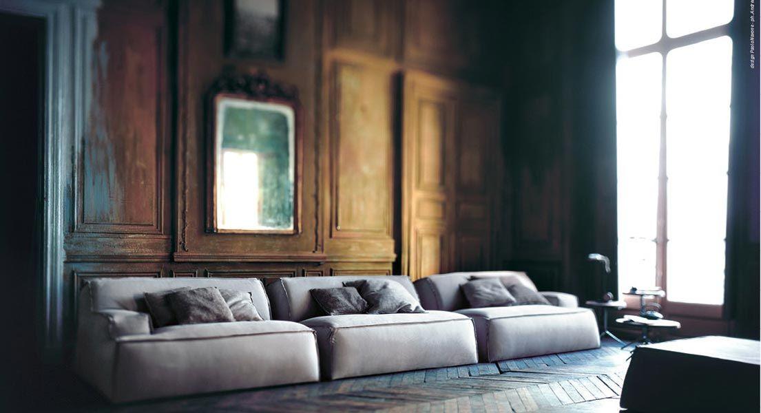 Baxter Sofa. Luxury Italian Furniture From Baxter. Modern Home Design.