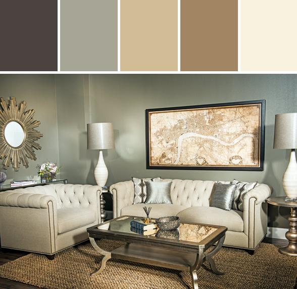 Easy Elegance Living Room Inspiration  Color Inspiration Magnificent Simple Elegant Living Room Design Inspiration