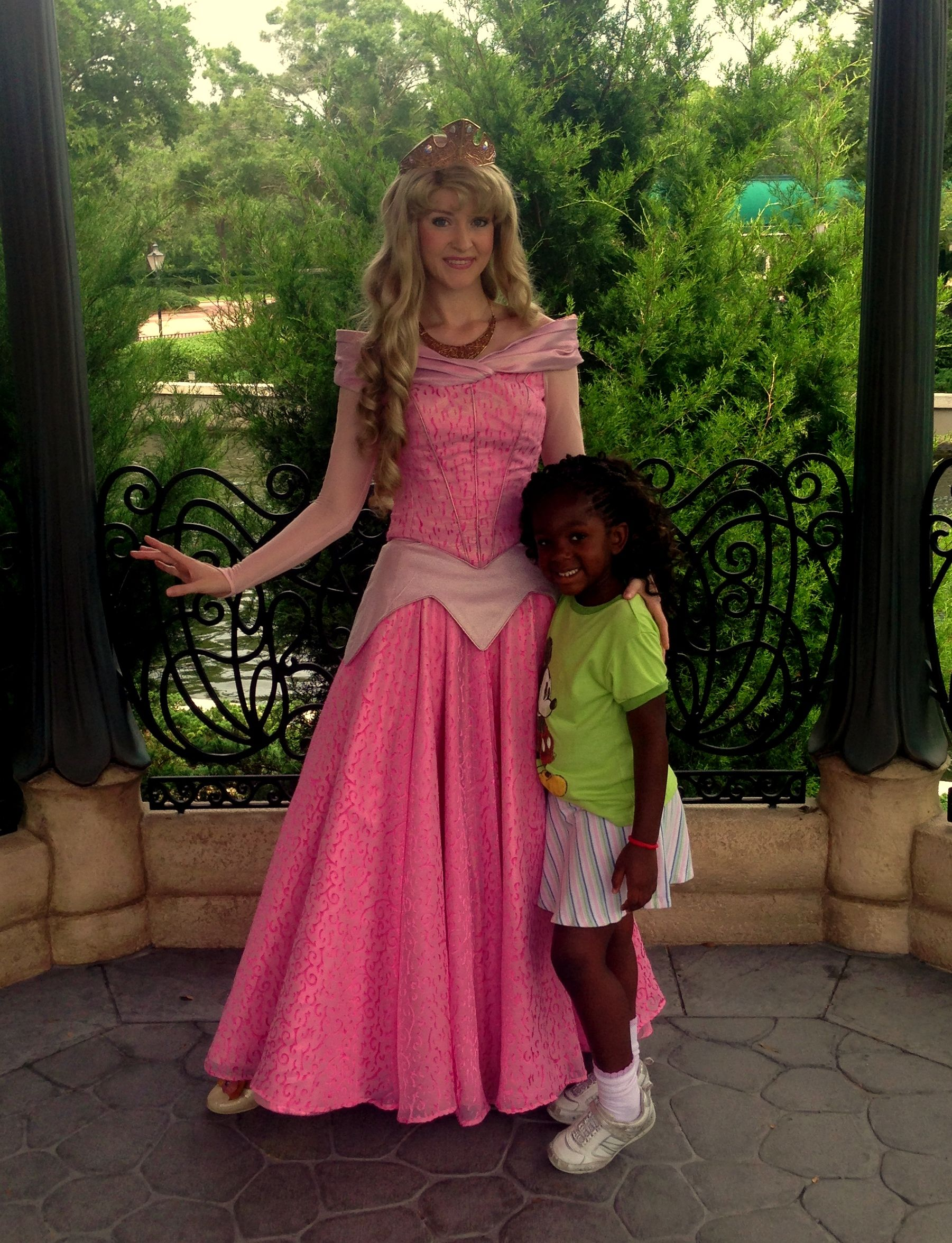 Meet And Greet With Princess Aurora Sleeping Beauty In The Gardens