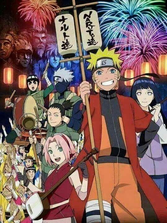 Happy New Year Desain Karakter Game Malam Tahun Baru Naruto