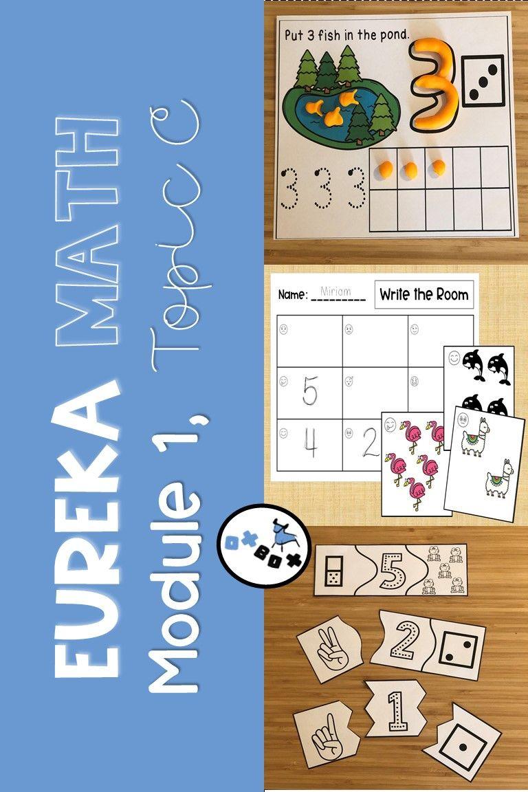 Eureka Math Module 1 Topic C Center Activities (With