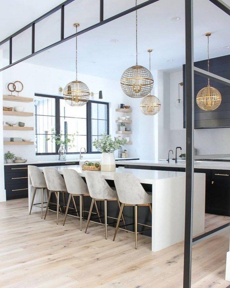 ✔58 amazing modern kitchen design that inspire you 14
