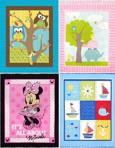 Baby Quilt Panel Cotton Fabric | To sew Baby Blankets | Pinterest ... : baby quilting fabric - Adamdwight.com