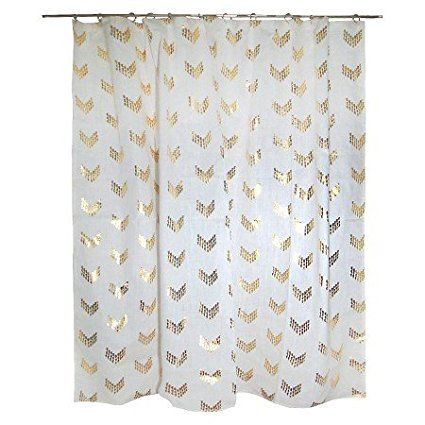 New Nate Berkus 72 Quot X 72 Quot Arrowshape Shower Curtains
