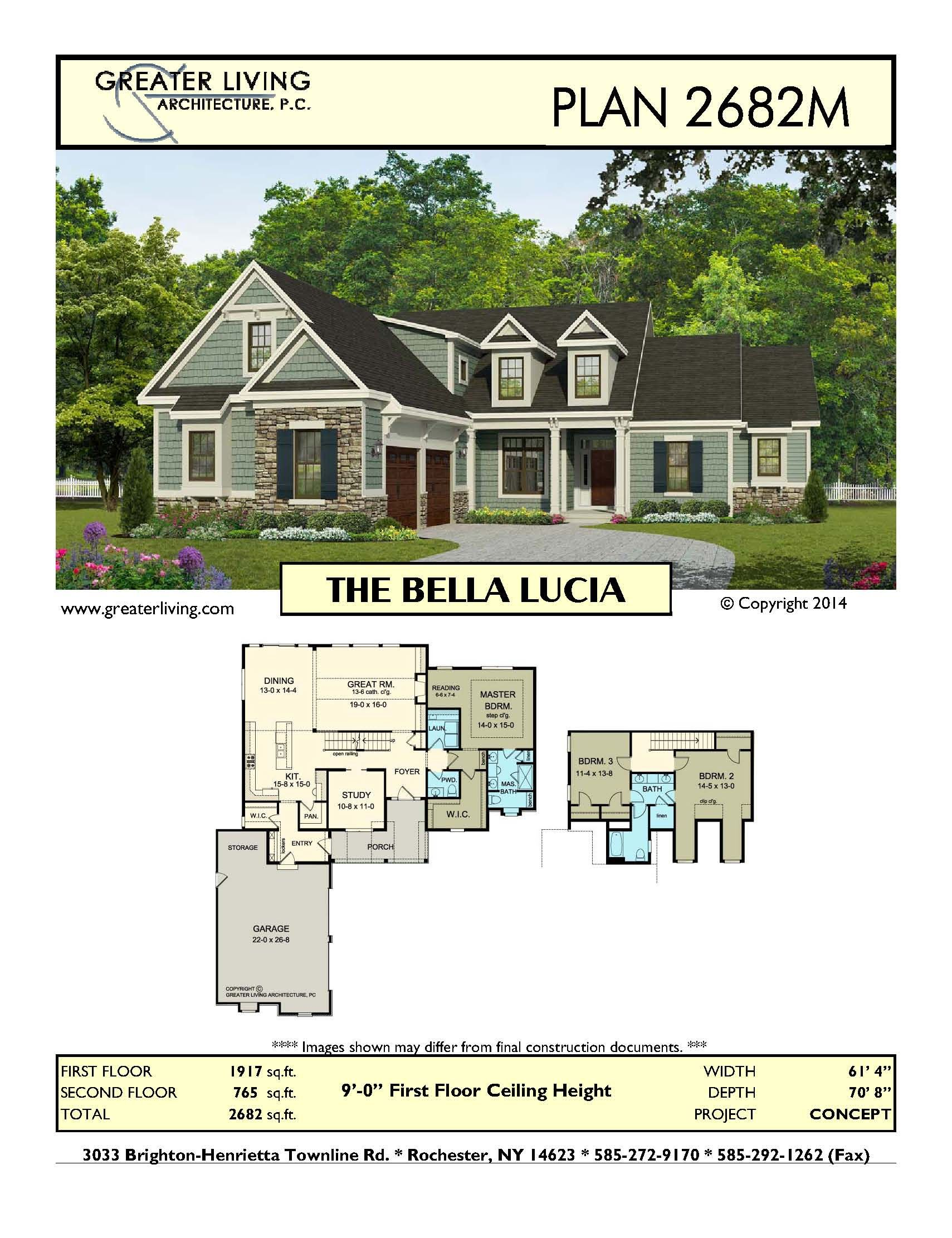 Plan 2682M THE BELLA LUCIA House Plans Two Story House Plans