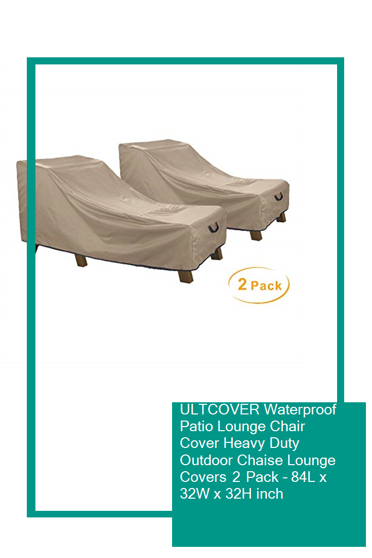 Patio Lounge Chair Cover Heavy Duty