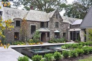 Gray Stone home renovations Traditional Exterior Philadelphia home ...