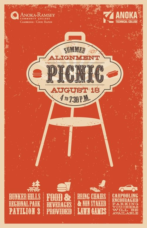 50 Brilliant Company Picnic Flyer Design Inspiration