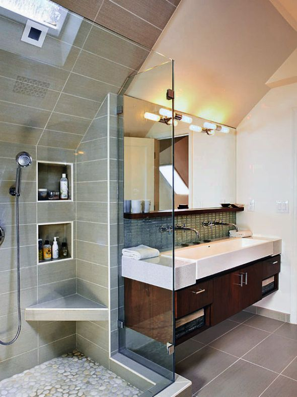 Delightful Modern Family Bathroom Ideas Part - 3: Family-bathroom-ideas-unique-and-unusual-styles-of-