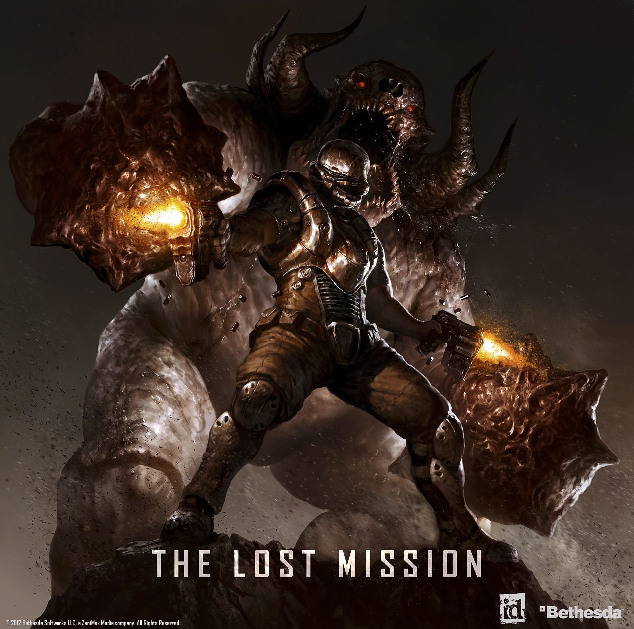 Doom 3 Advertisement by Dave Rapoza Doom 3 bfg, Doom 3