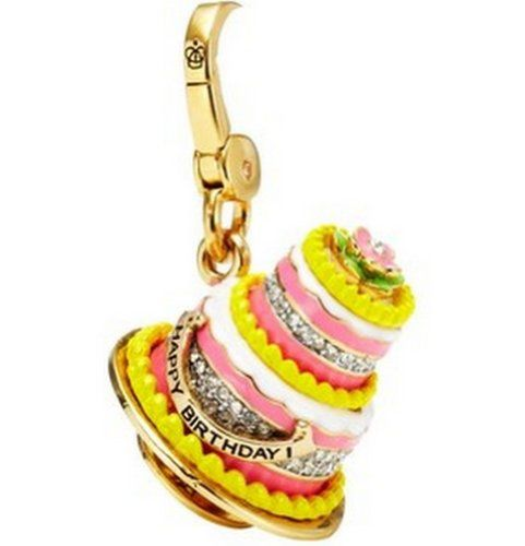 Juicy Couture Birthday Cake Charm