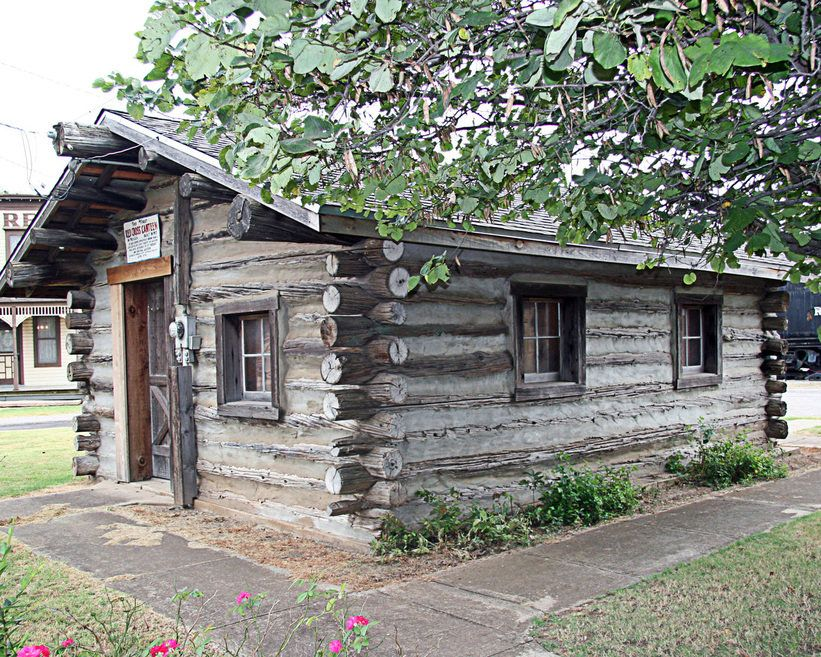 Merveilleux Old Log Cabins | El Reno, OK : Old Log Cabin