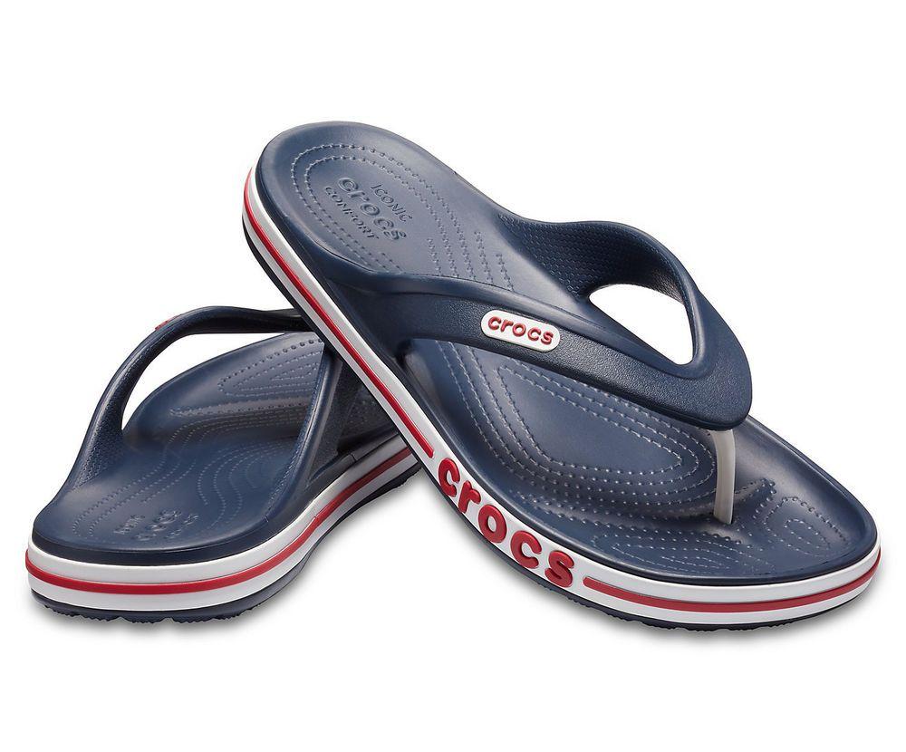 4639236fc37 NEW Crocs Bayaband Sporty Black   White Flip Flop UNISEX (Women s 9 ...