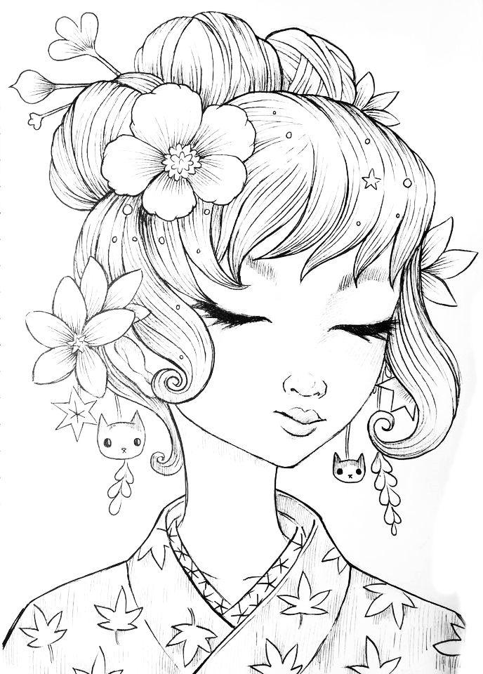 Desenho De Jeremiah Ketner Https Www Facebook Com Jeremiahketner Fref Ts Desenhos Para Colorir Adultos Desenhos Adult Coloring Pages
