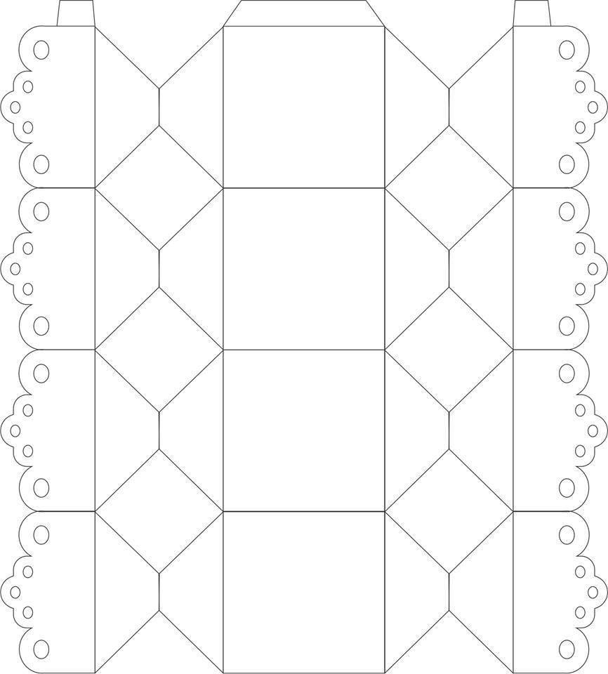Molde bala | moldes | Pinterest | Silhouette, Box and Template