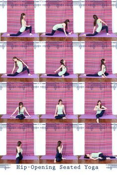 seated hip opening yoga love hipopeners pigeon is great