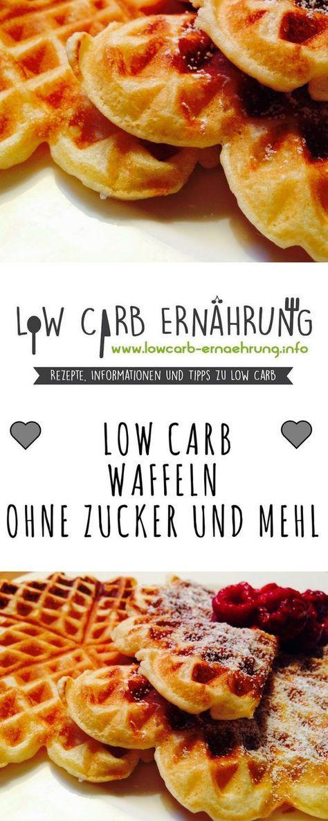 Low Carb Rezept Fur Super Leckere Waffeln Ohne Mehl Und Ohne