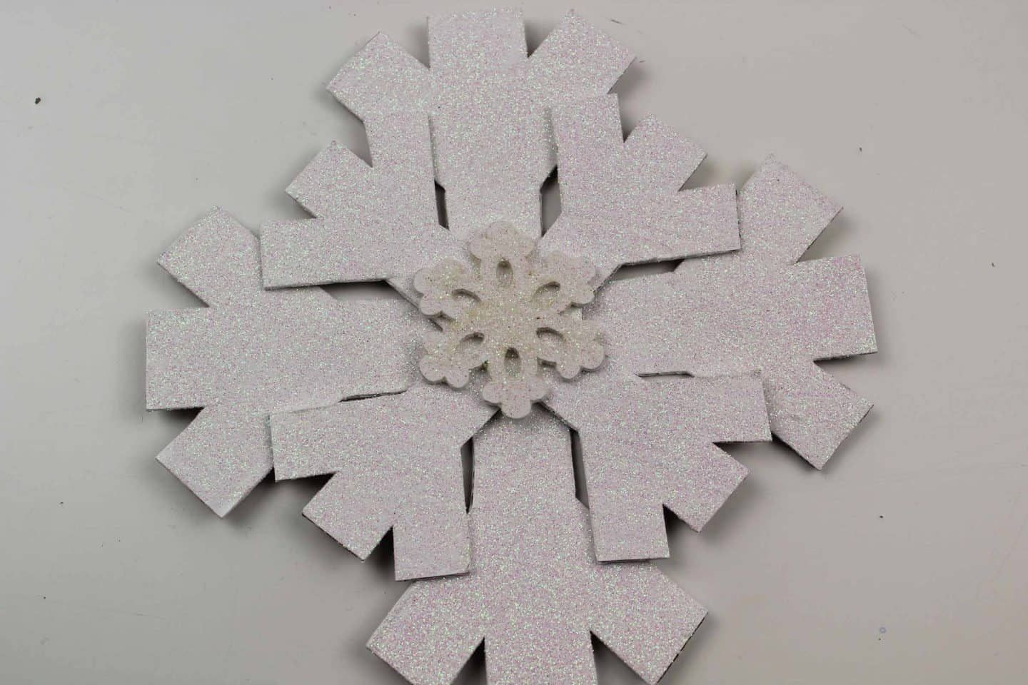 Winter Craft Snowflake Decoration For Kids