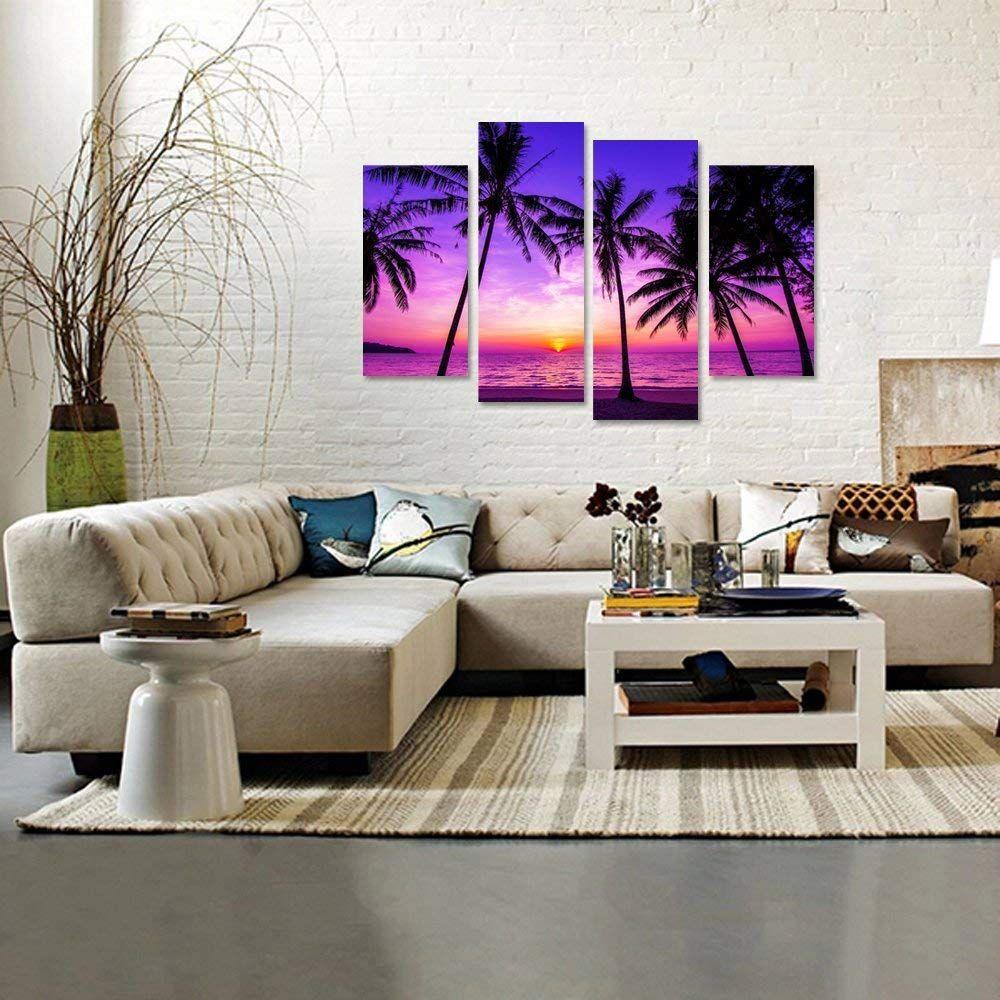 Best Palm Tree Wall Art And Palm Tree Wall Decor Beach Wall