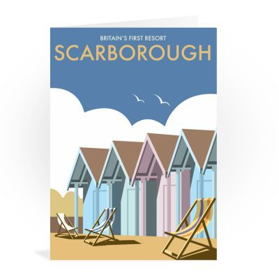 Scarborough wholesale small greeting card
