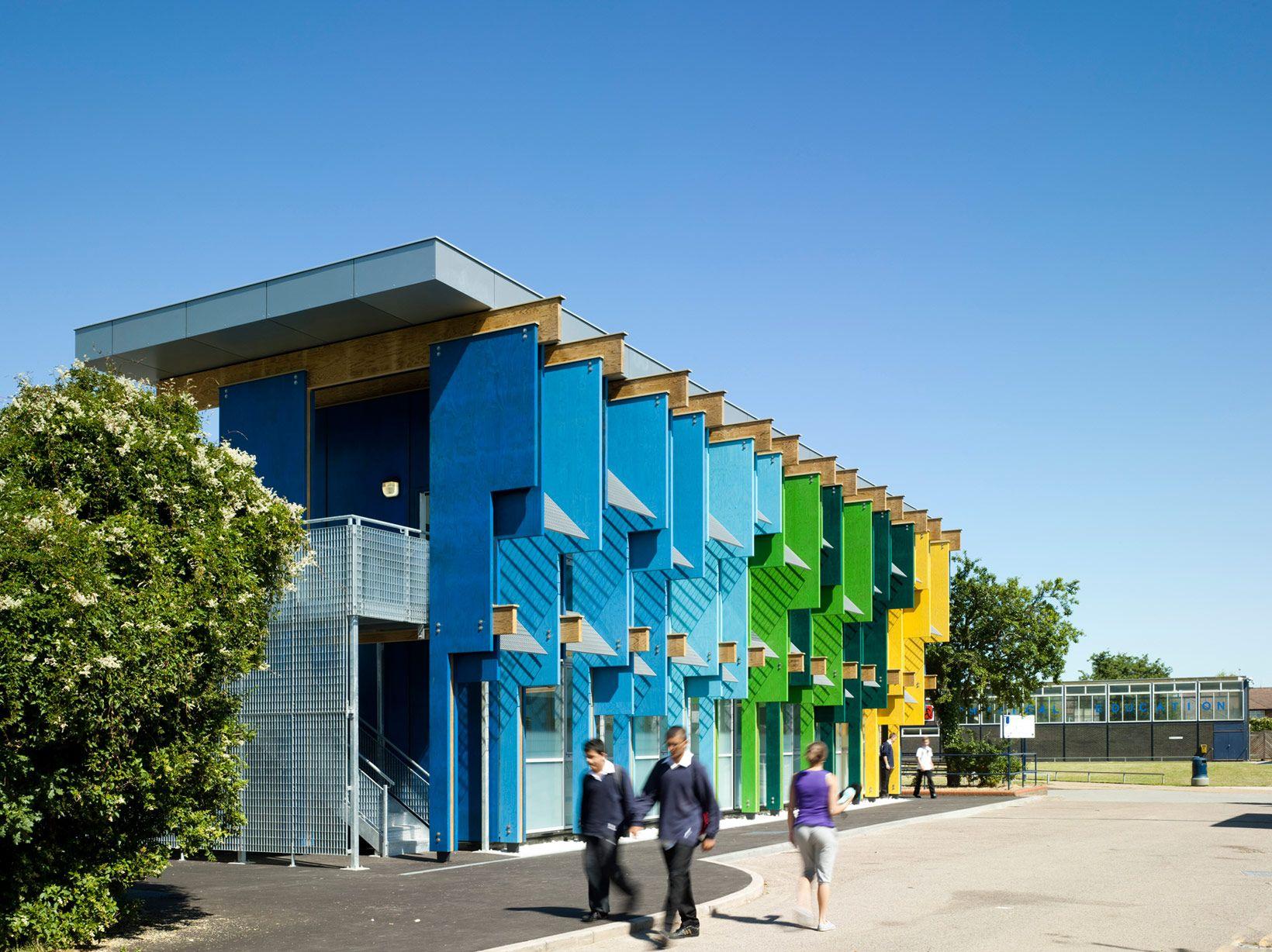 Longford Community School New Library By Jonathan Clark