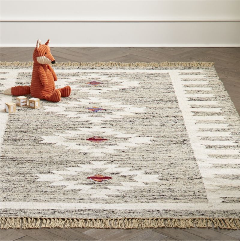 Fringe Rug Swatch + Reviews   Crate and Barrel