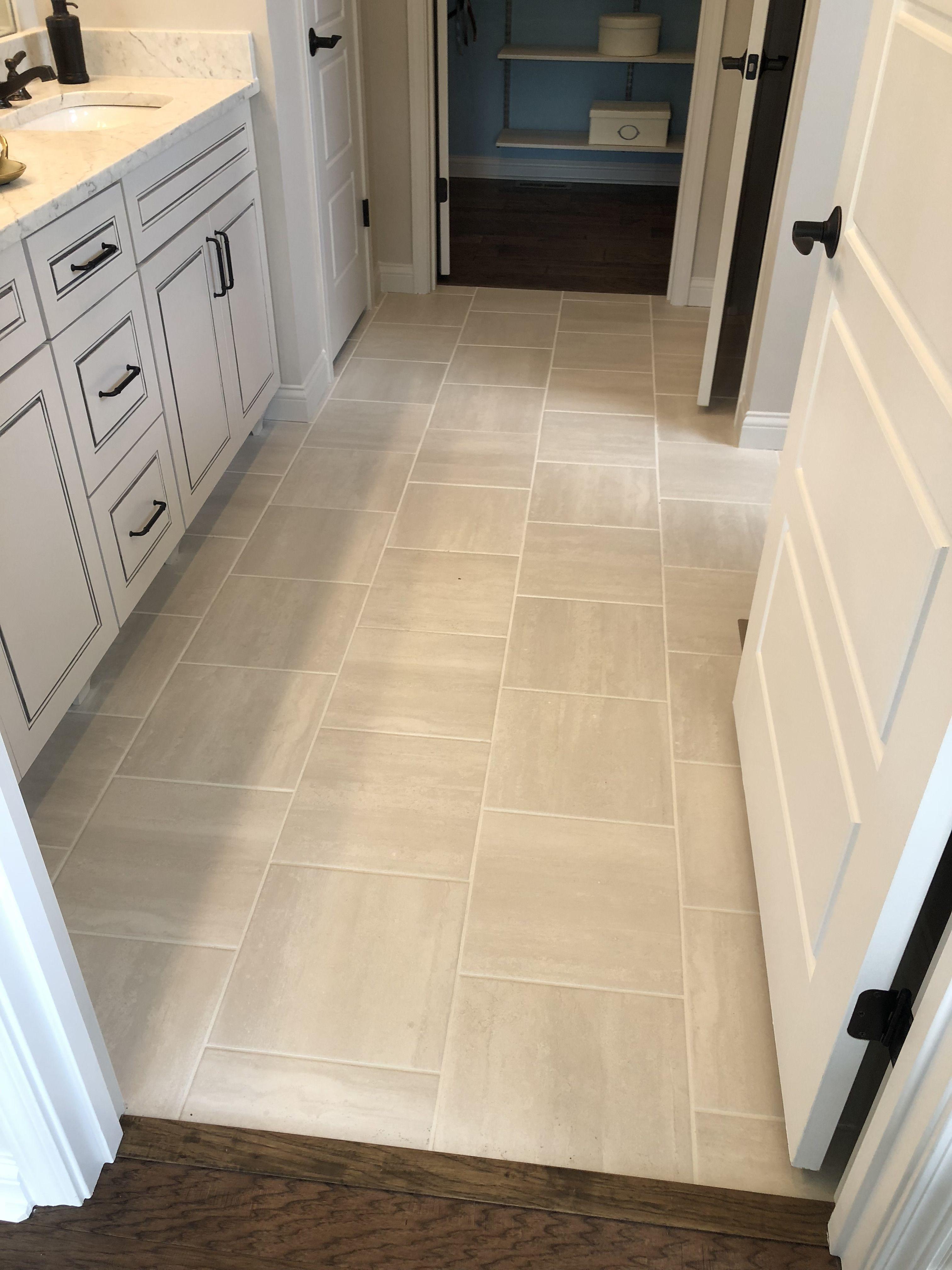 Cove Creek 13x13 Gray Floor Tile Installed Brick Joint Kitchen Tiles Slate Floor Kitchen Kitchen Design Trends 13 x 13 ceramic tile