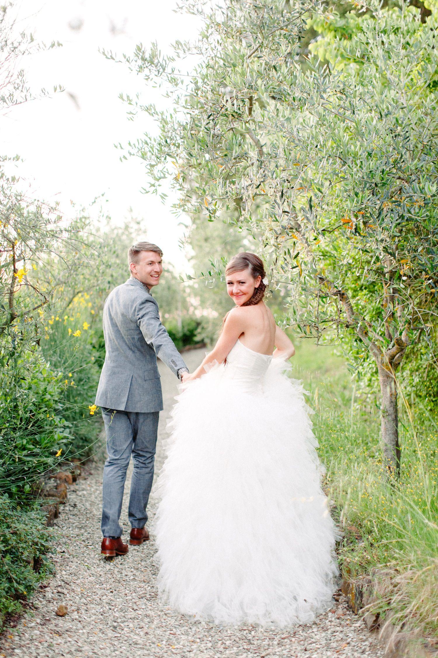 Courtney and Patrick Hochzeit in der Toskana von Amanda K