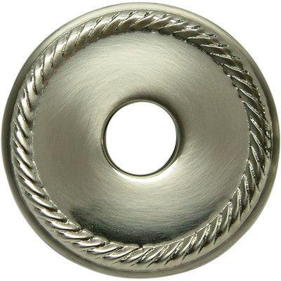 "Kingston Brass 3"" Rope Decor Escutcheon Finish: Satin Nickel"