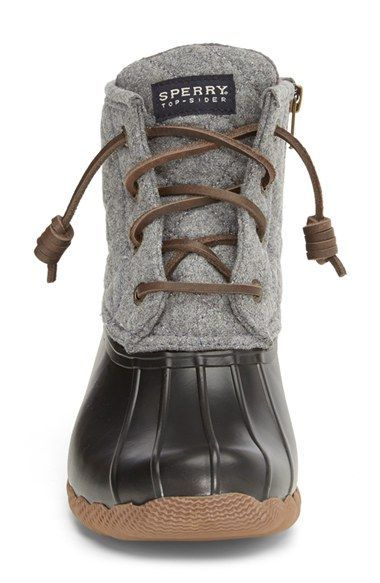 With these stylish and ultra-comfy Sperry rain boots, there's no ...