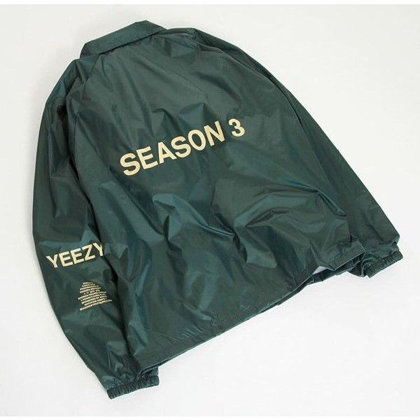 Yeezy season 3 invitation invite jacket kanye west tlop merch olive yeezy season 3 invitation invite jacket kanye west tlop merch olive 45 liked on polyvore featuring outerwear jackets green jacket stopboris Gallery