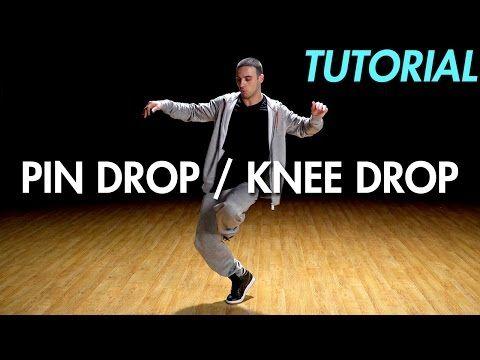 How To Pin Drop X2f Knee Drop Hip Hop Dance Moves Tutorial