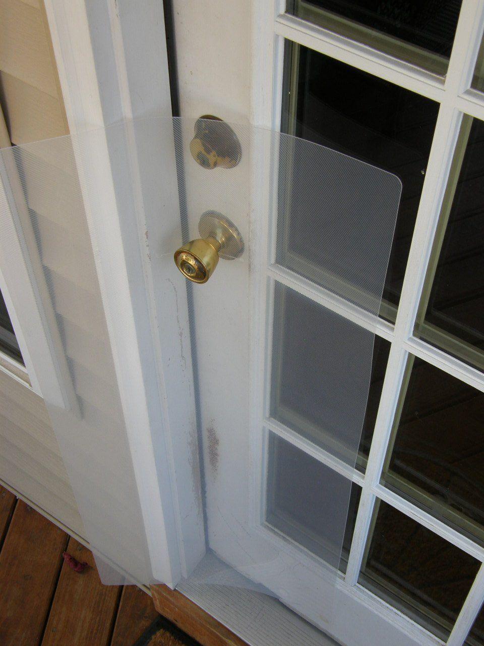 Robot Check Door Scratching Frames On Wall Door Stripping